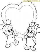 Baby Mickey con Corazon