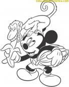 Mickey y su nuevo amigo