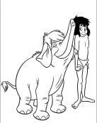 Mowgli y Junior