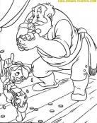 Pinocho y Strómboli