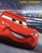 Rayo McQueen en una gran carrera