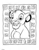 EL pequeño Simba