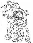 Woody con Perdigón y Jessie