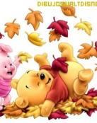 Winnie y Piglet se divierten