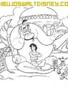El genio y Aladdin