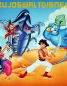 Aladdin luchando