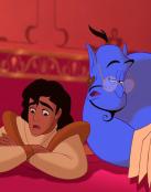 Aladin preocupado