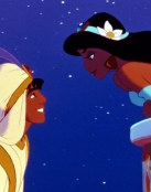 Amor entre Aladdin y Jasmine