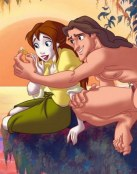 Amor entre Tarzán y Jane
