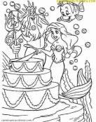 Ariel, Tritón y Flounder