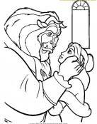 Gesto romántico de Bestia hacia Bella