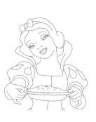 Blancanieves ha preparado un pastel