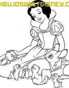 Blancanieves con animales