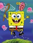 Bob Esponja y las medusas