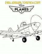 Avión Dusty Crophopper