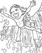 Tarzan feliz