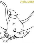 Dumbo vuela con alegría
