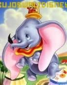 Dumbo con su pluma