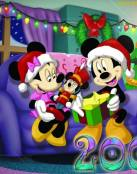 Regalos de Navidad para Mickey y Minnie