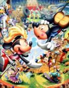Mickey en el circo