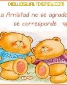 La amistad se corresponde