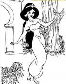 Colorea a Jasmine