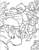 Mowgli y la pantera