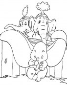 Los padres buscan a Dumbo
