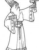 El mago Merlín y su nueva pócima