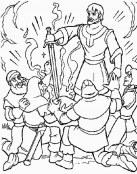 Merlín consigue la espada