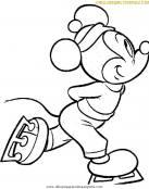 Día de patinaje para Mickey Mouse