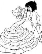 ¿La serpiente ha cazado a Mowgli?