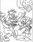 Pinocho y el pastel