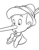 A Pinocho le crece la nariz