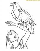 Pocahontas y el Aguila