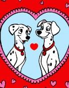 San Valentin para 101 dalmatas