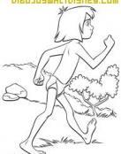 Mowgli andando