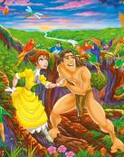 Tarzan y Jane Porter