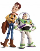 Woody y Buzz, buenos amigos