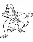 Abú, el mono mascota de Aladdin