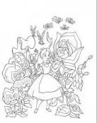 Alicia y las flores parlantes
