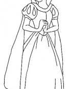 Blancanieves y su bonito vestido