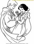 Romántica flor para Blancanieves