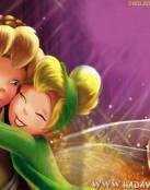 Campanilla y Peter Pan