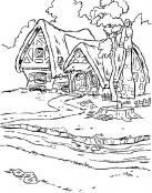 Las casitas de Blancanieves y siete enanitos