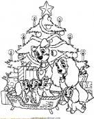 La Dama y el Vagabundo en Navidad