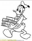 Donald ha ido a la biblioteca