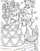 La sirenita celebra su cumpleaños