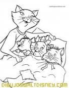 Los Aristogatos van a dormir