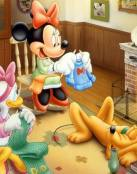 Minnie, Daisy y Pluto